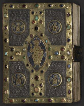 Goldschmiedeeinband zum Evangeliar - BSB Clm 28321#Einband
