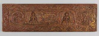Tibetischer Buchdeckel (Oberdeckel) - BSB Cod.tibet. 488