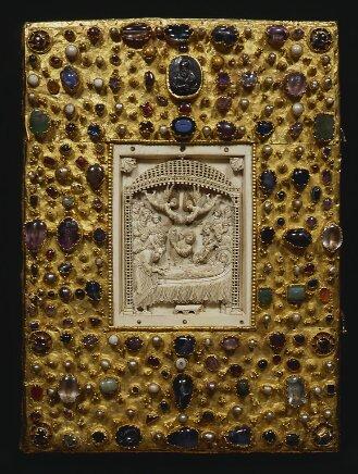 Goldschmiedeeinband zum Evangeliar Ottos III