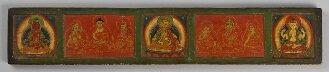 Tibetischer Buchdeckel (Oberdeckel) - BSB Cod.tibet. 655(1