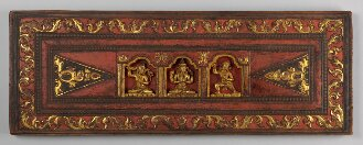Tibetischer Buchdeckel - BSB Cod.tibet. 785