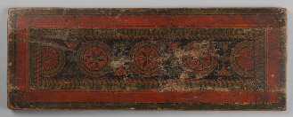 Tibetischer Buchdeckel (Unterdeckel) - BSB Cod.tibet. 813