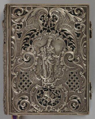 Silbereinband zu Liturg. 1450 v