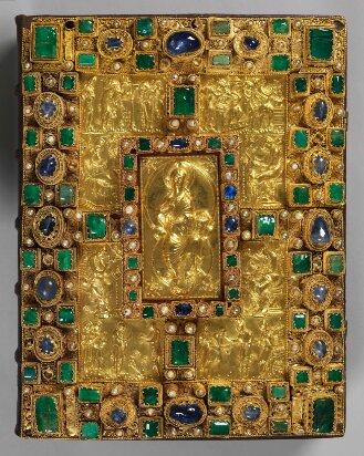 Prachteinband zum Evangeliar (Codex Aureus) - BSB Clm 14000#Einband