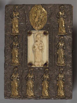Prachteinband zur Sammelhandschrift