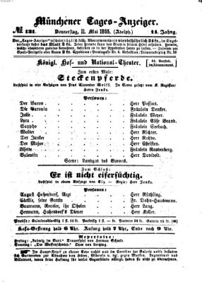 Münchener Tages-Anzeiger Donnerstag 11. Mai 1865