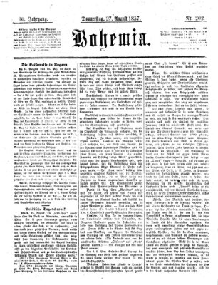 Bohemia Donnerstag 27. August 1857