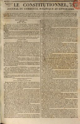 Le constitutionnel Freitag 28. April 1820