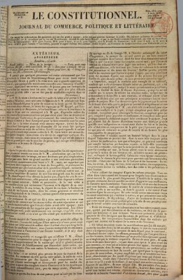 Le constitutionnel Freitag 18. August 1820