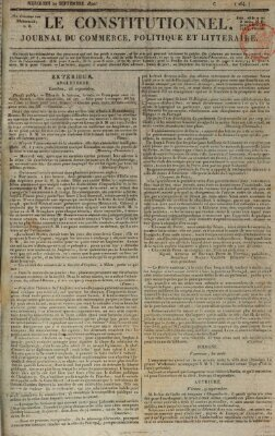 Le constitutionnel Mittwoch 20. September 1820