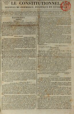 Le constitutionnel Dienstag 7. November 1820