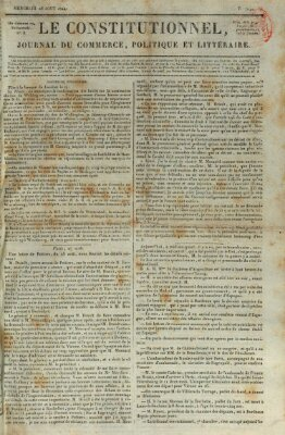 Le constitutionnel Mittwoch 28. August 1822