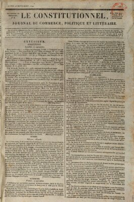 Le constitutionnel Montag 16. September 1822