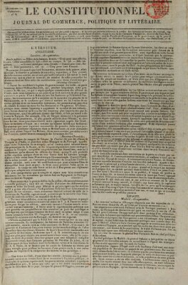 Le constitutionnel Montag 30. September 1822