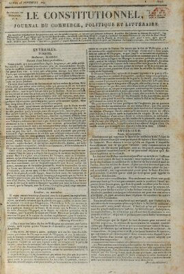 Le constitutionnel Montag 25. November 1822