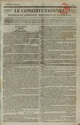 Le constitutionnel Sonntag 6. April 1823