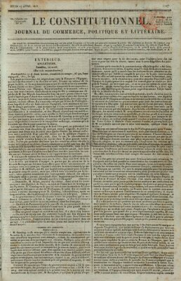 Le constitutionnel Donnerstag 17. April 1823