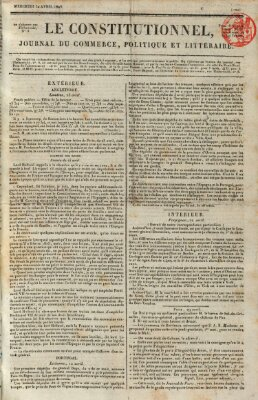 Le constitutionnel Mittwoch 30. April 1823