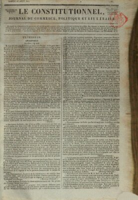 Le constitutionnel Samstag 23. August 1823