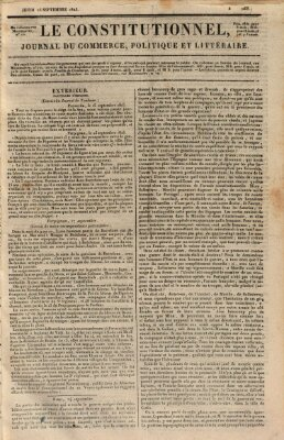 Le constitutionnel Donnerstag 25. September 1823