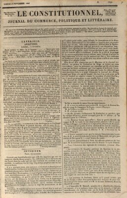 Le constitutionnel Samstag 15. November 1823