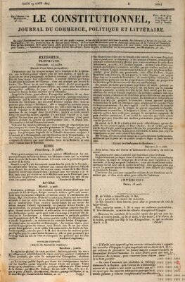 Le constitutionnel Donnerstag 19. August 1824