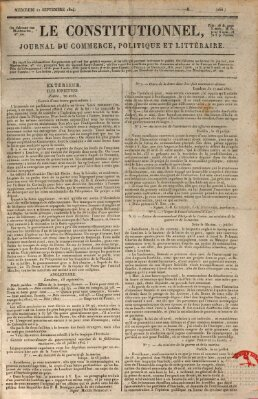 Le constitutionnel Mittwoch 22. September 1824