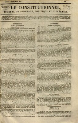 Le constitutionnel Donnerstag 15. September 1825