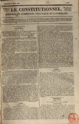 Le constitutionnel Mittwoch 23. August 1826