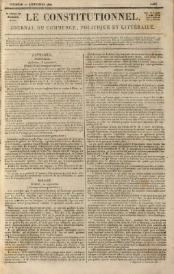 Le constitutionnel Freitag 21. September 1827