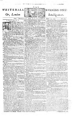 The Whitehall evening post or London intelligencer Donnerstag 27. März 1755
