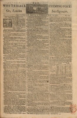 The Whitehall evening post or London intelligencer Samstag 20. März 1756