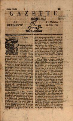 Gazette de Brunswig