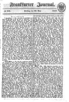 Frankfurter Journal Freitag 13. Mai 1859