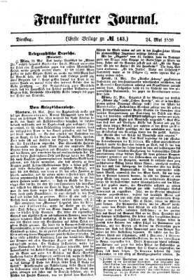 Frankfurter Journal Dienstag 24. Mai 1859