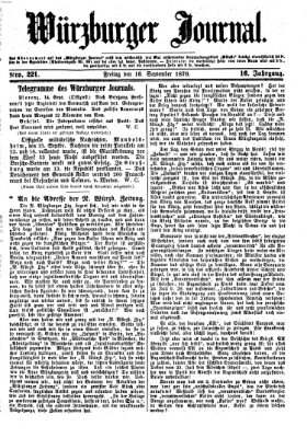 Würzburger Journal Freitag 16. September 1870