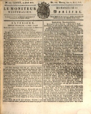 Le Moniteur westphalien Montag 12. April 1813