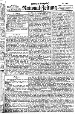 Nationalzeitung Dienstag 12. April 1864