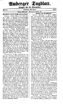 Amberger Tagblatt Dienstag 16. April 1867