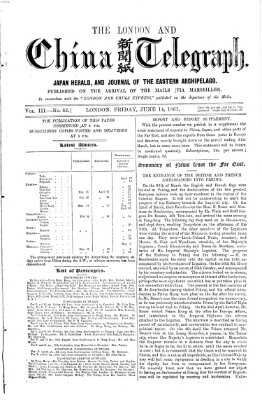 The London and China telegraph Freitag 14. Juni 1861