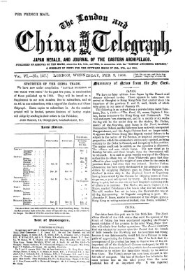 The London and China telegraph Mittwoch 3. Februar 1864