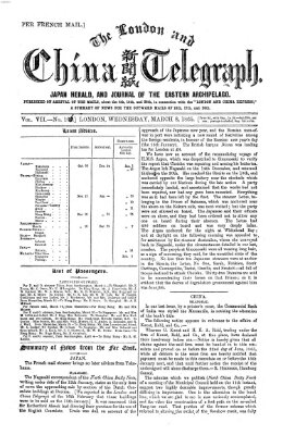 The London and China telegraph Mittwoch 8. März 1865
