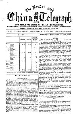 The London and China telegraph Mittwoch 29. März 1865