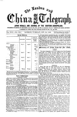 The London and China telegraph Dienstag 30. Oktober 1866