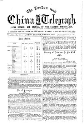 The London and China telegraph Dienstag 9. März 1869