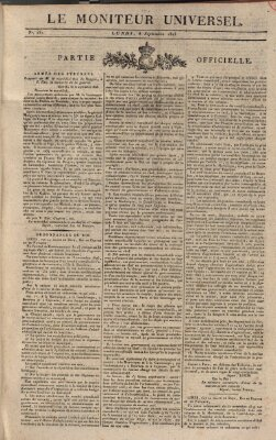 Le moniteur universel Donnerstag 8. September 1825