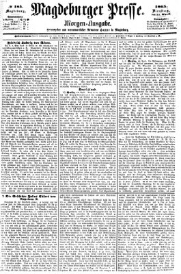Magdeburger Presse Dienstag 11. April 1865