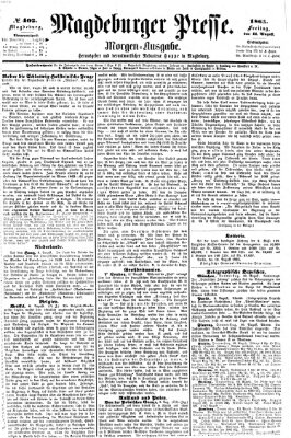 Magdeburger Presse Freitag 11. August 1865