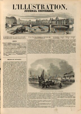 L' illustration Samstag 14. Februar 1846