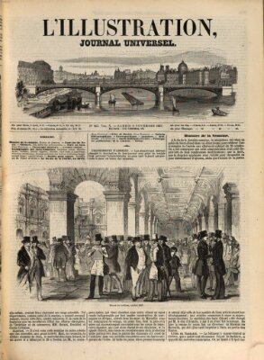 L' illustration Samstag 6. November 1847
